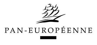 Pan-Européenne - Image: Pan Européenne Logo