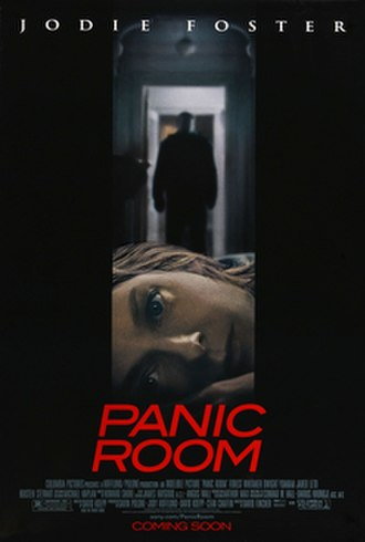 Panic Room - Theatrical release poster
