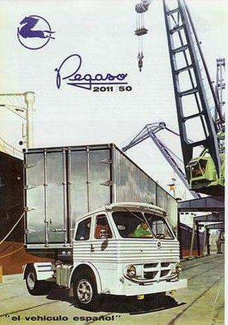Pegaso - Pegaso 2011/50 artic tractor truck (ca. 1965)