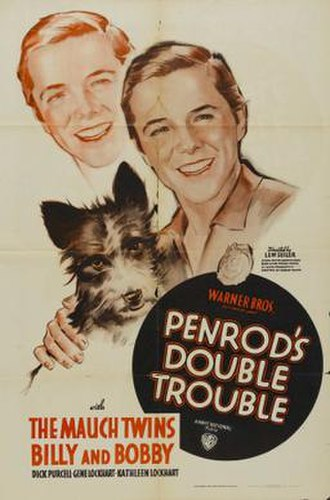Penrod's Double Trouble - Theatrical release poster