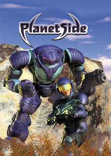 <i>PlanetSide</i> 2003 massively-multiplayer online first-person-shooter video game