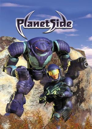 PlanetSide - Image: Planet Side Coverart