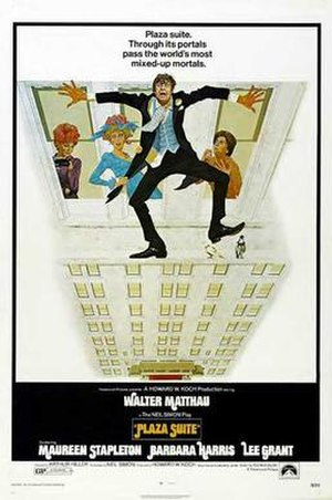 Plaza Suite (film) - Original poster