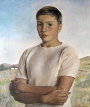 Henriette Wyeth - Portrait of Peter Wyeth Hurd (1937) by Henriette Wyeth, El Paso Museum of Art, El Paso, Texas.