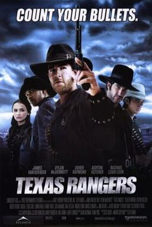 Texas Rangers (film) - Theatrical release poster
