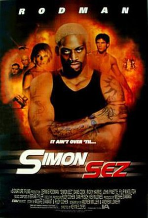 Simon Sez - Image: Poster of the movie Simon Sez