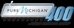 Pure Michigan 400 - Image: Pure Michigan 400 logo
