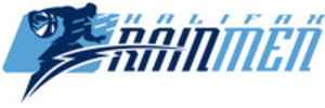 Halifax Rainmen - Logo used by the Rainmen during their tenure in the PBL.