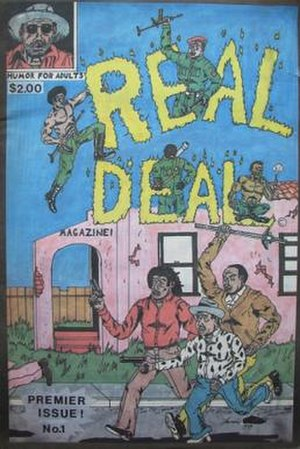 Real Deal (comics) - Image: Real Deal 01