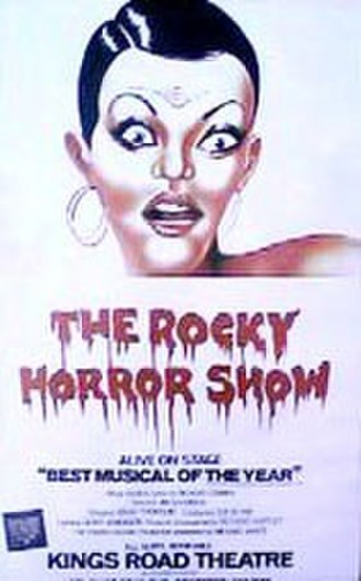 The Rocky Horror Show - 1974 poster at Kings Road Theatre