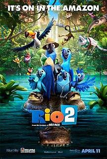 <i>Rio 2</i> 2014 US animated film directed by Carlos Saldanha
