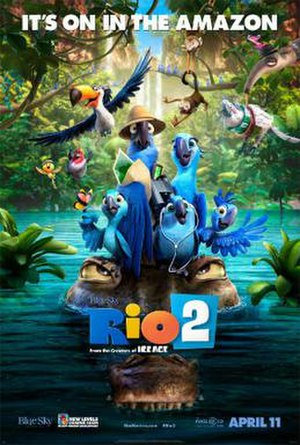 Rio 2 - Image: Rio 2 Poster