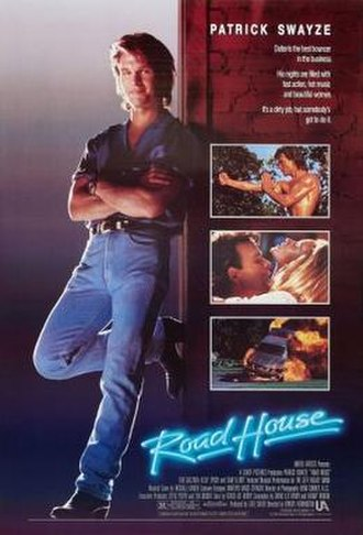 Road House (1989 film) - Theatrical release poster