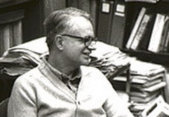 Robert M. Chanock - Chanock in his office, while interviewing a student