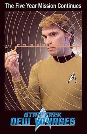 Star Trek fan productions - James Cawley as Kirk in Star Trek: Phase II.