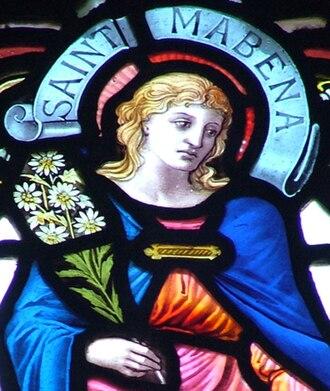 Mabyn - Image: Saint mabena