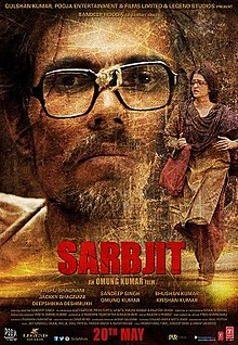 First Official Poster of Sarbjit