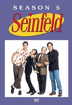 Seinfeld (season 5) - DVD cover