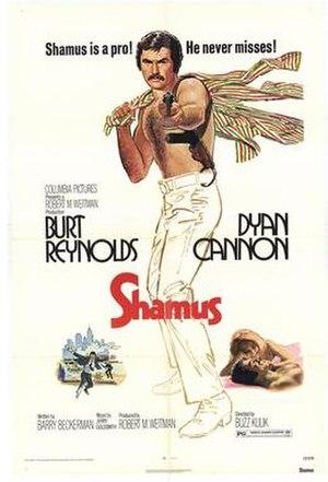 Shamus (film) - Image: Shamus poster