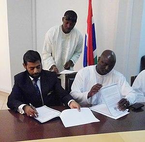 EUCLID (university) - Euclid Headquarters Agreement Signing