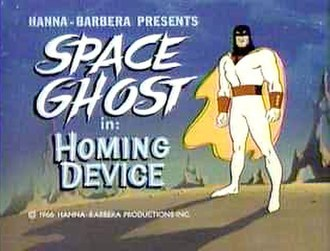 Alex Toth - Space Ghost, one of Toth's most famous designs.