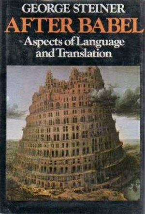 After Babel - Cover of the first edition
