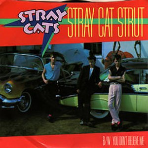 Stray Cat Strut - Image: Stray Cat Strut US45