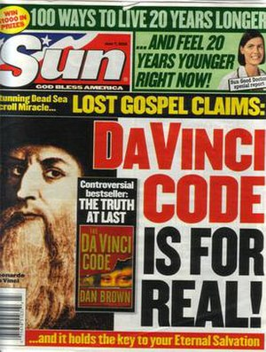 Sun (supermarket tabloid) - Sun cover (June 7, 2004)