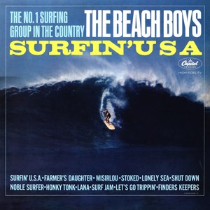 Surfin' U.S.A. - Image: Surfin'USA Cover