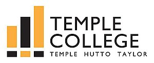 Temple College - Image: Temple College logo (color)