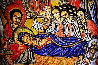 Filseta Christian feast day in the Orthodox Tewahedo Church in commemoration of Dormition and Assumption of Mary