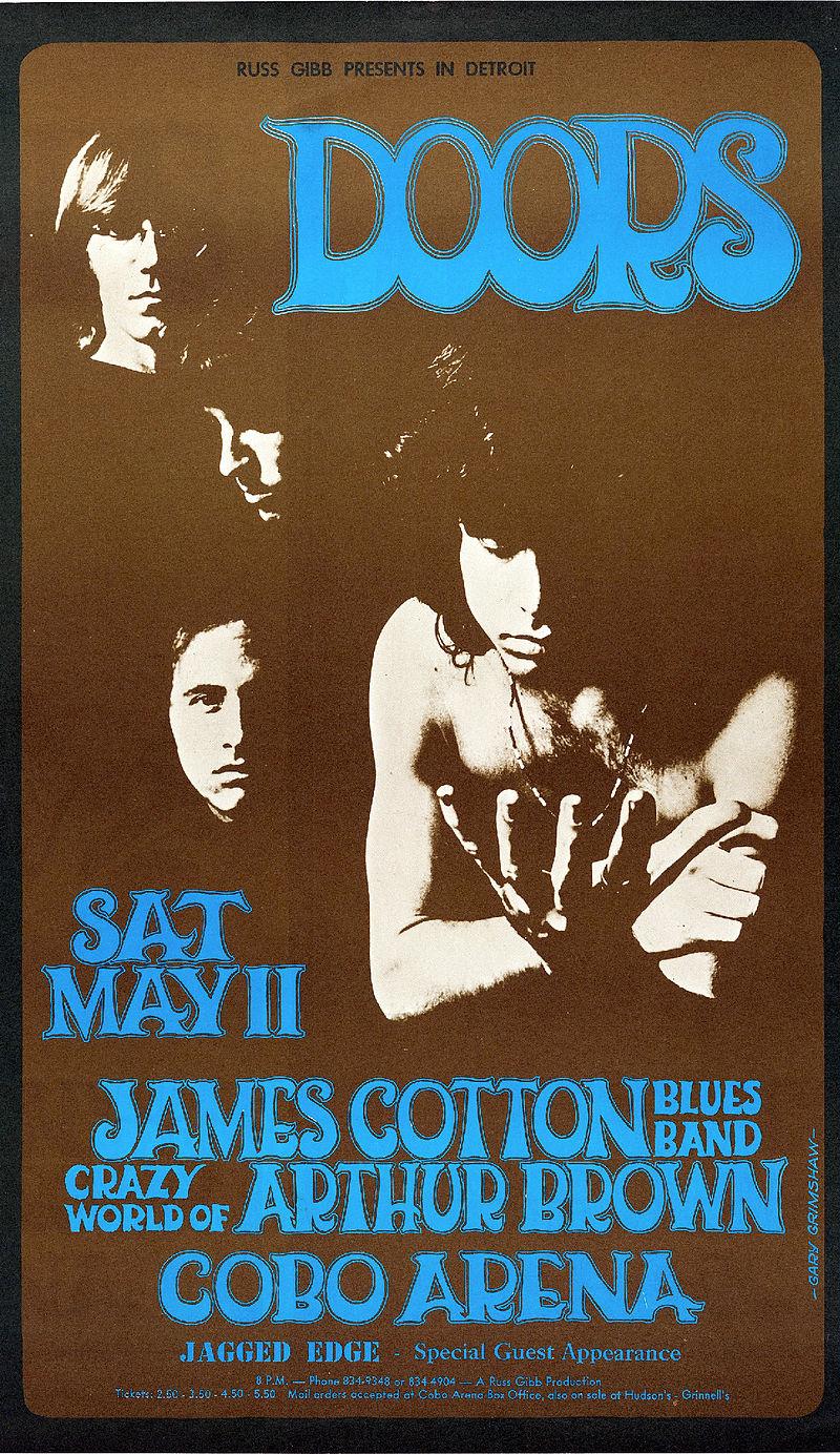 The Doors Cobo Arena Detroit 1968.jpg