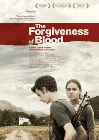 The Forgiveness of Blood - Theatrical release poster