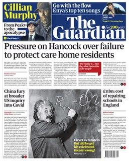 <i>The Guardian</i> British national daily newspaper