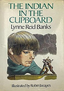 <i>The Indian in the Cupboard</i> book by Lynne Reid Banks