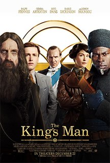 <i>The Kings Man</i> 2021 film directed by Matthew Vaughn