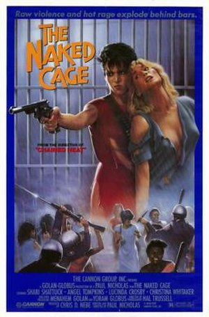 The Naked Cage - Theatrical release poster