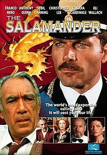 <i>The Salamander</i> (1981 film) 1981 thriller film directed by Peter Zinner