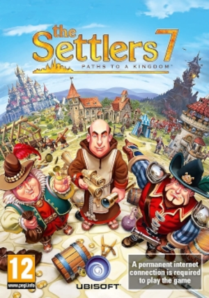 The Settlers 7: Paths to a Kingdom - Image: The Settlers 7 Paths to a Kingdom Cover