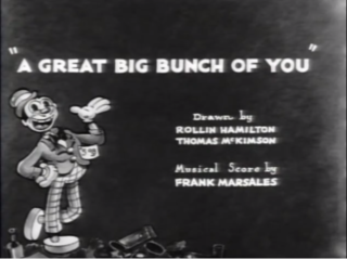 <i>A Great Big Bunch of You</i> 1932 short film