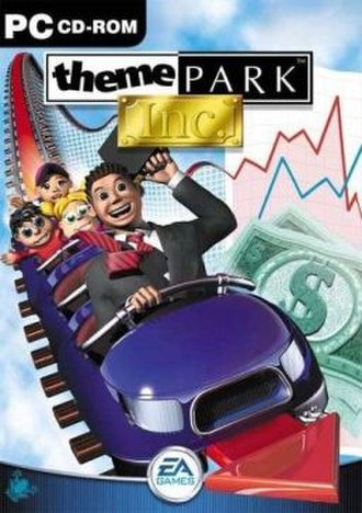 Theme Park Inc - Microsoft Windows cover art for Theme Park Inc.