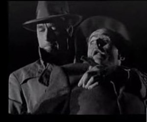 Elisha Cook Jr. - Cook meeting a typical sticky end at the hands of Lawrence Tierney in Born to Kill (1947)