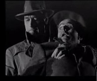 Lawrence Tierney - Tierney attacking Elisha Cook Jr. in the film noir Born to Kill (1947)