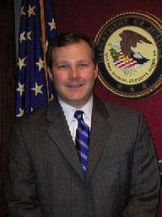 Tim Griffin - Portrait of U.S. Attorney Tim Griffin