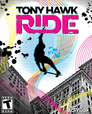 Tony Hawk: Ride - Image: Tony Hawk Ride cover