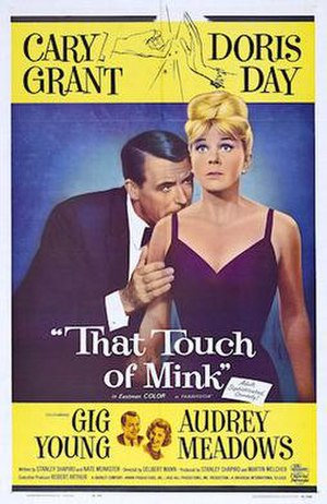 That Touch of Mink - Theatrical release poster