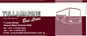 Tullamarine Bus Lines - Image: Tullamarinebus