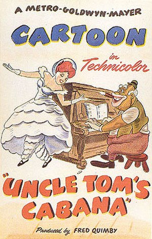 Uncle Tom's Cabaña - Theatrical poster