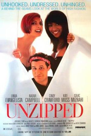 Unzipped (film) - One sheet