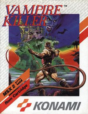 Vampire Killer - European box art